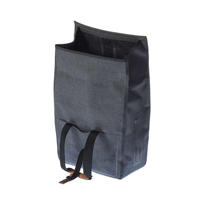 Basil Urban Dry - bicycle shopper - 25 liter - charcoal melee