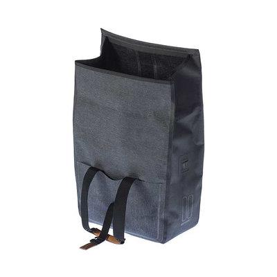 Basil Urban Dry - fietsshopper - 25 liter - charcoal melee