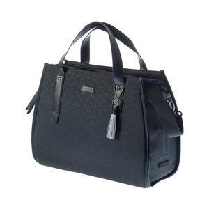 Basil Noir - business bicycle bag - 17 liter - black
