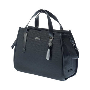Noir - business bicycle bag - black