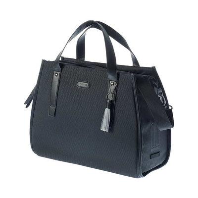 Basil Noir - Business Fahrradtasche - 17 Liter - schwarz