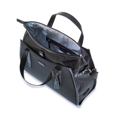 Basil Noir - business fietstas - 17 liter - zwart