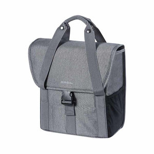 GO - single bicycle bag - grey