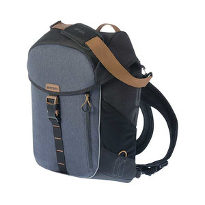 Miles - bicycle daypack - black/grey