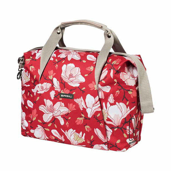 Magnolia - single bicycle bag - red