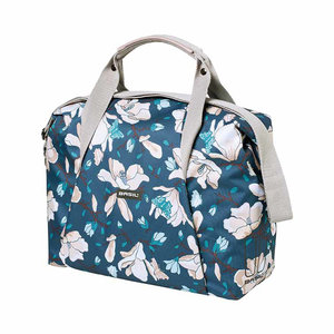 Magnolia - single bicycle bag - blue
