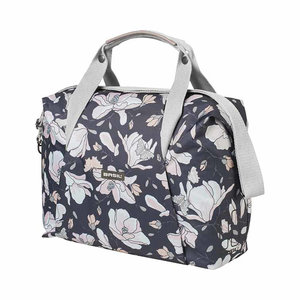 Magnolia - single bicycle bag - dark blue