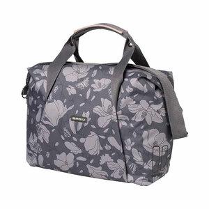 Basil Magnolia - single bicycle bag - 18 liter - blackberry