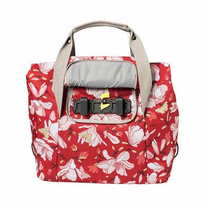 Basil Magnolia - Fahrradshopper - 18 Liter - poppy red