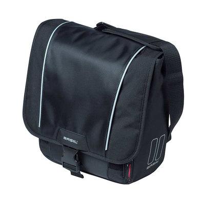 Basil Sport Design - enkele fietstas - 18 liter - zwart