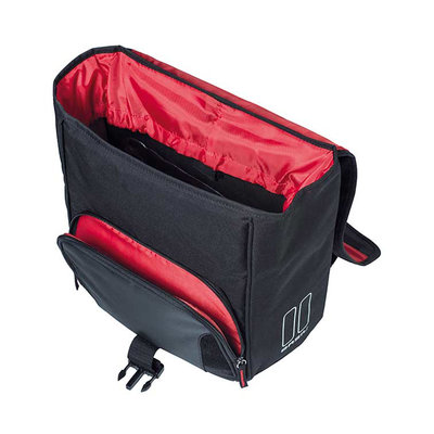 Basil Sport Design - single bicycle bag  - 18 liter - black