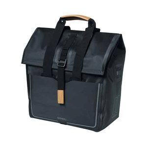 Basil Urban Dry - fietsschopper - 25 liter - zwart