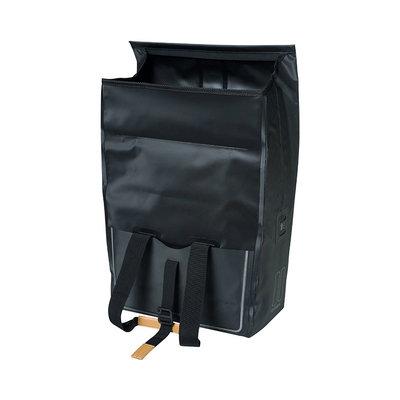 Basil Urban Dry - Fahrradshopper - 25 Liter - schwarz