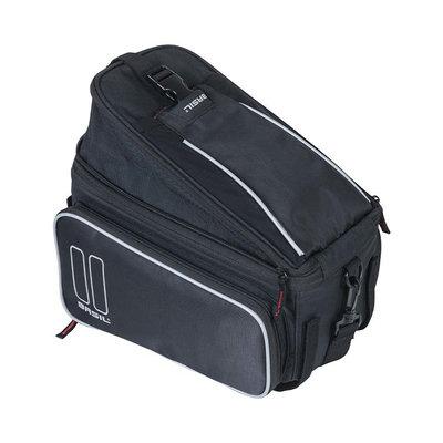 Basil Sport Design - Gepäckträgertasche - 7-15 Liter- schwarz