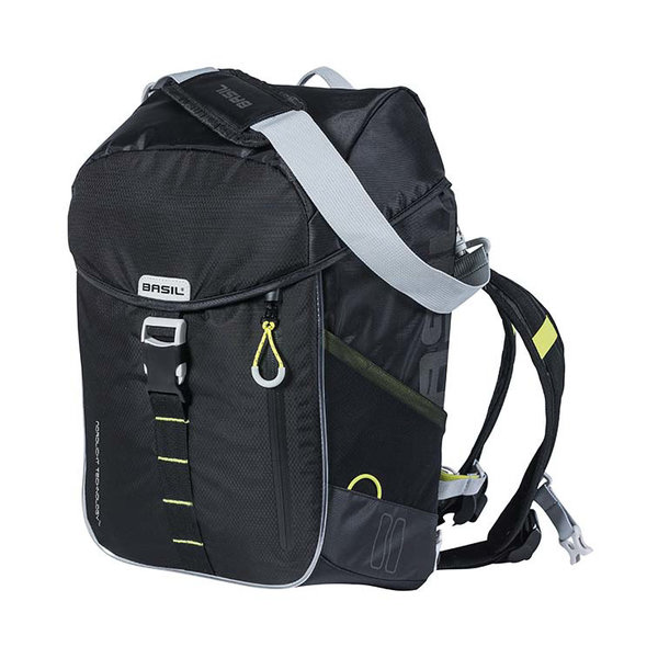 Miles - bicycle daypack Nordlicht - black