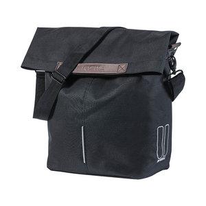 Basil City - fietsshopper - 14-16 liter - zwart