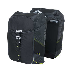 Miles - double bicycle bag MIK - black