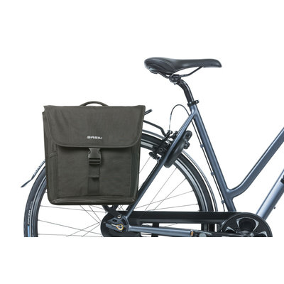 Basil GO MIK – double bicycle bag – 32 liter - black