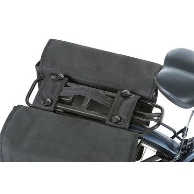 Basil GO MIK – dubbele fietstas – 32 liter - zwart