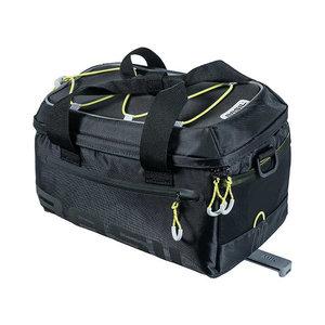 Basil Miles - bagagedragertas MIK - 7 liter - zwart