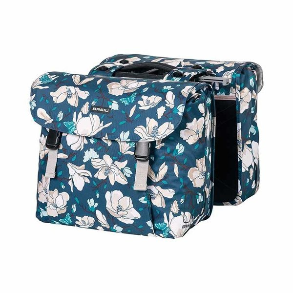 Magnolia - double bicycle bag MIK – blue