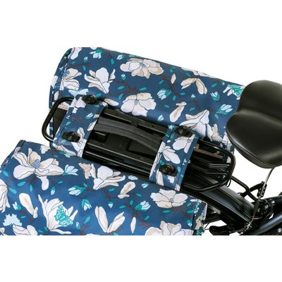 Basil Magnolia MIK – dubbele fietstas – 35 liter blauw