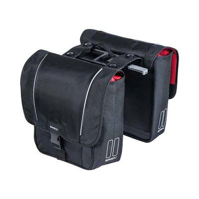 Basil Sport Design MIK – dubbele fietstas – 32 liter - zwart