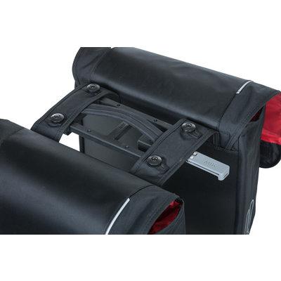 Basil Sport Design  MIK – doppelte Fahrradtasche – 32 liter - schwarz