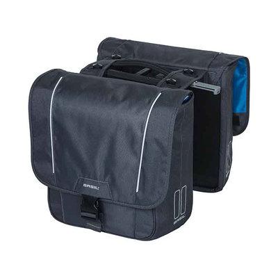 Basil Sport Design – double bicycle bag MIK – 32 liter - grey