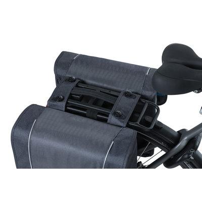 Basil Sport Design - dubbele fietstas MIK – 32 liter - grijs