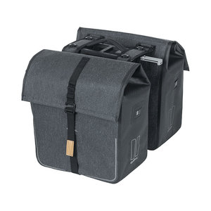 Urban Dry MIK - double bicycle bag - grey