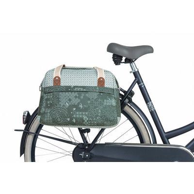 Basil Bohème - fietsschoudertas - 18 liter - groen