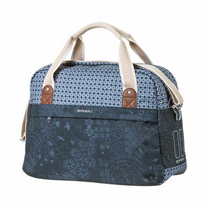 Basil Boheme carry all bag - single bike bag - 18 liter - blue