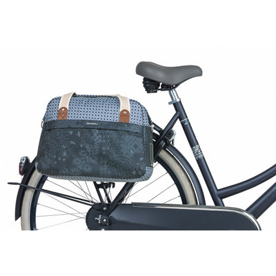 Basil Boheme Fahrrad Schultertasche- einfache fahrradtasche - 18 Liter - blau