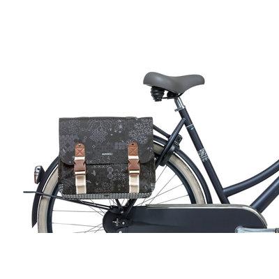 Basil Bohème - dubbele fietstas - 35 liter - charcoal