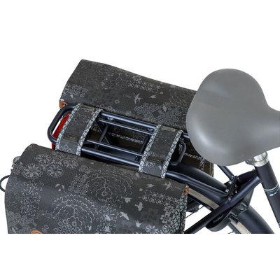 Basil Bohème - doppelte Fahrradtasche - 35 Liter - charcoal