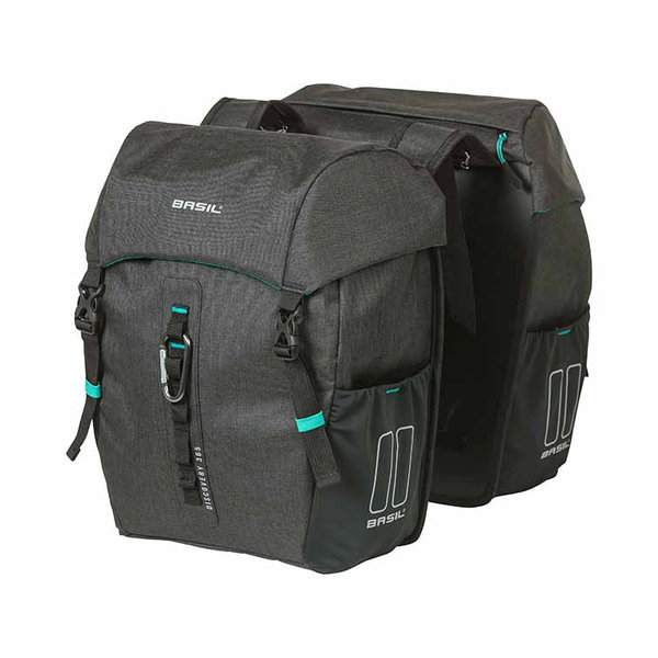 Discovery 365D - double bicycle bag - black