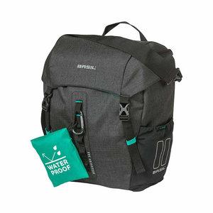 Basil Discovery 365D - einzel Fahrradtasche M - 9 Liter - schwarz melee