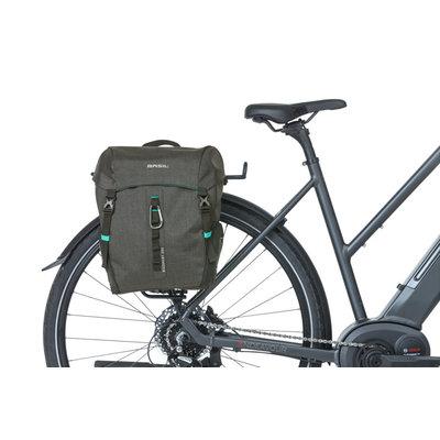 Basil Discovery 365D - enkele fietstas M - 9 liter - zwart melee