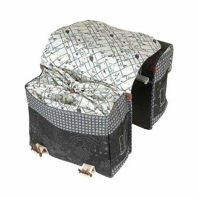 Basil Bohème MIK - double bicycle bag - 35 liter - black