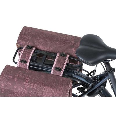 Basil Bohème MIK - dubbele fietstas - 35 liter -rood