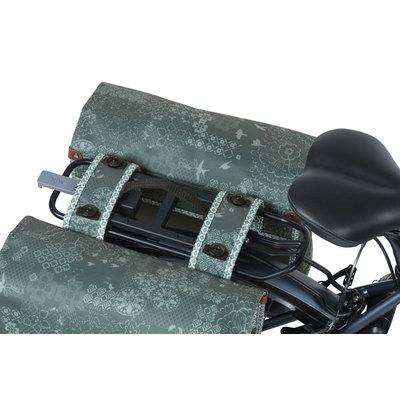 Basil Bohème MIK - dubbele fietstas - 50 liter - groen