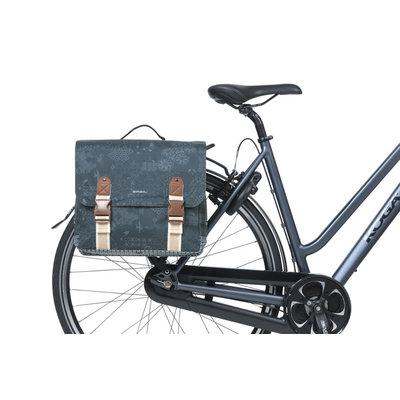 Basil Bohème MIK - dubbele fietstas - 35 liter - blauw