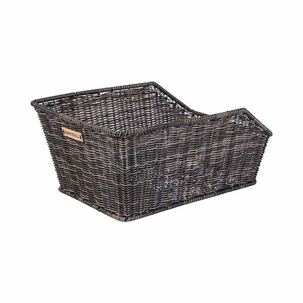 Cento Rattan Look - bicycle basket - brown