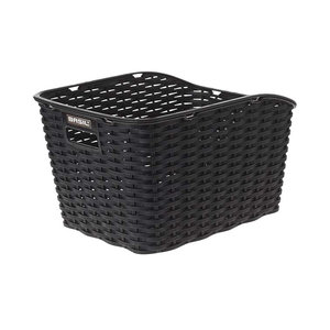Weave WP - bicycle basket - black