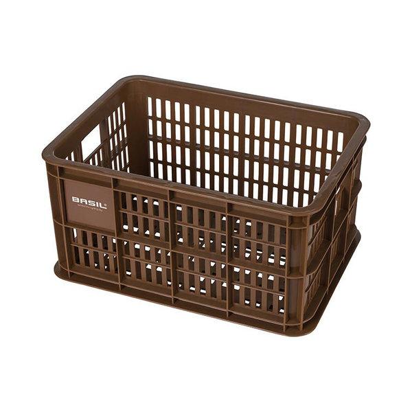 Crate S - Fahrradkasten - braun