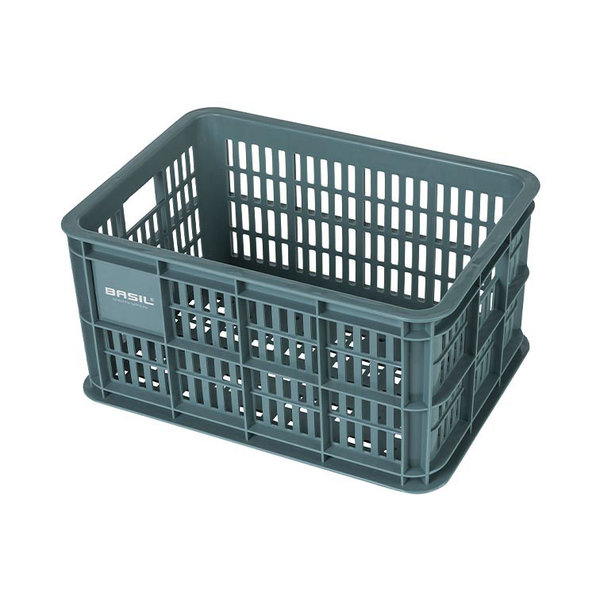 Crate S - bicycle crate - green