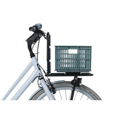 Basil Crate S - Fahrradkiste -  25 Liter - seagrass