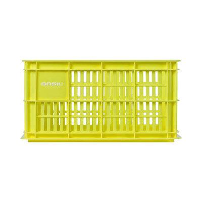 Basil Crate S - Fahrradkiste -  25 liter - lemon