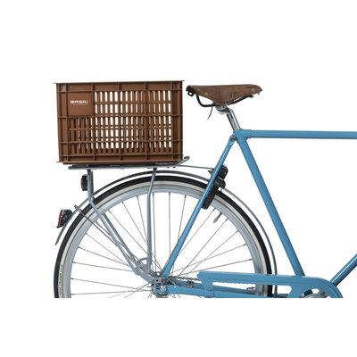 Basil Crate M - fietskrat -  33 liter - saddle brown